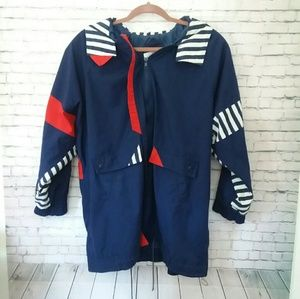 [VINTAGE] 1980's BE IN THE CURRENT SEEN retro coat